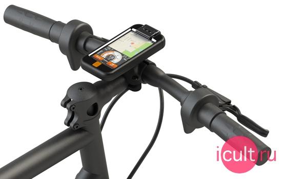 iBike Bike Mount and Case Black