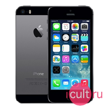 айфон 5. серый фото